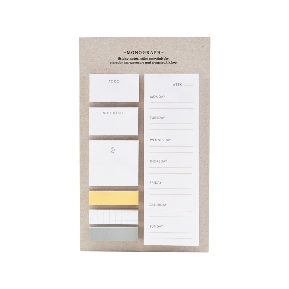 Monograph Notes Post it planner&notes Monograph