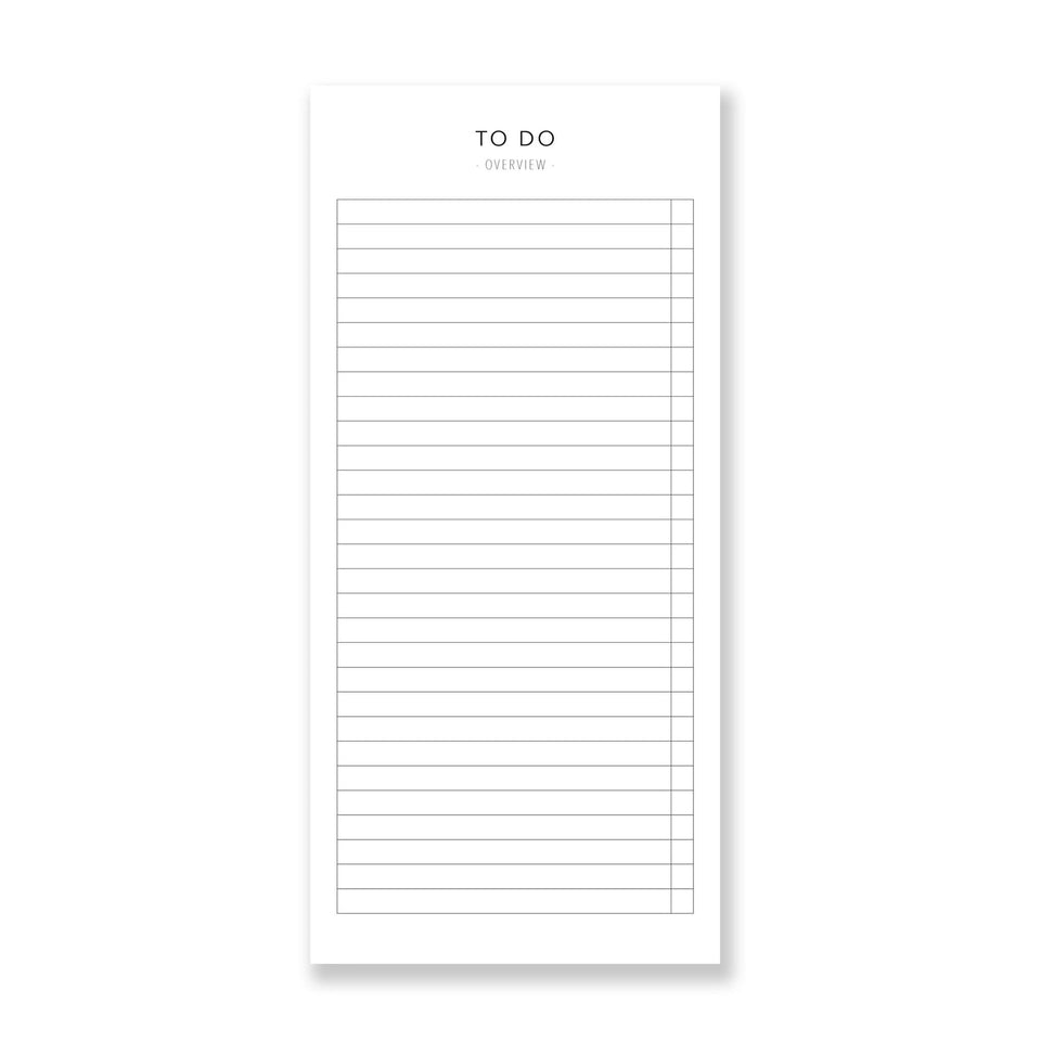 Leo La Douce Notes To do List Classic