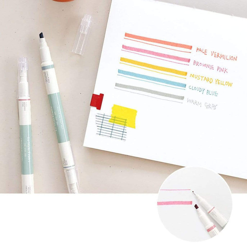Iconic Penne Marker doppia punta - 2 Way Retro Pen
