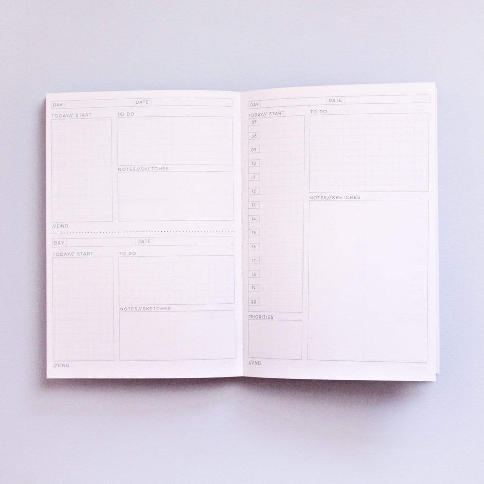 The Completist Planner Daily Planner Memphis