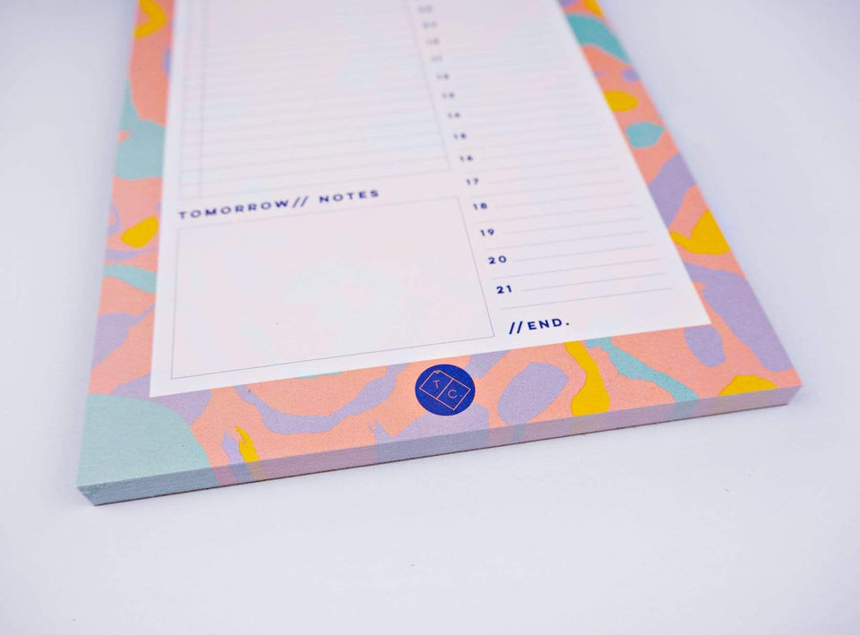 The Completist Planner Desk Planner Daily Inky