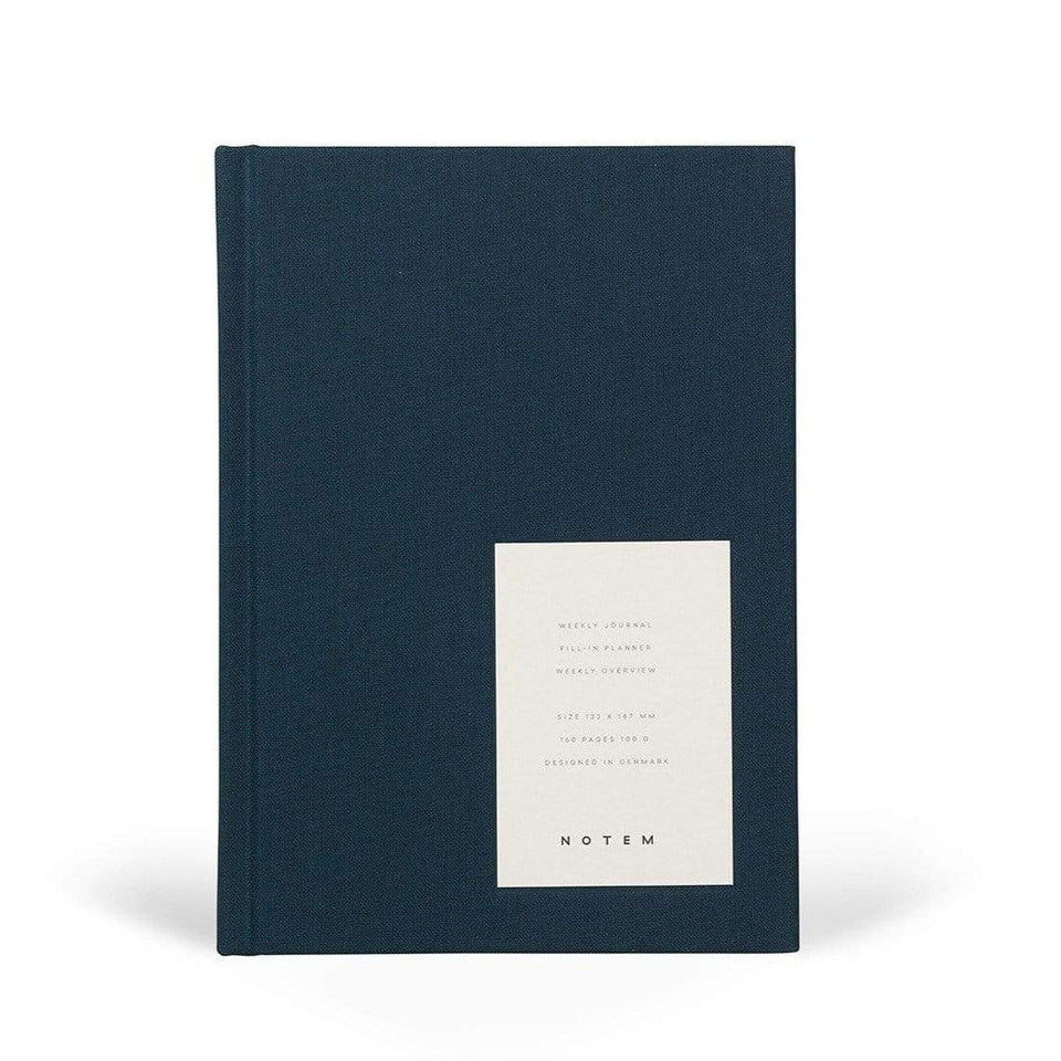 Notem Planner Even Weekly Journal Dusty Blue