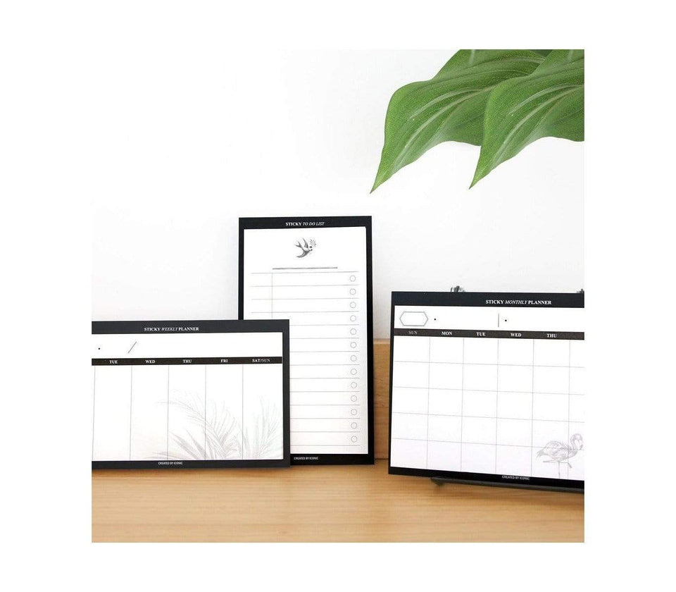 Iconic Planner Sticky notes To Do List