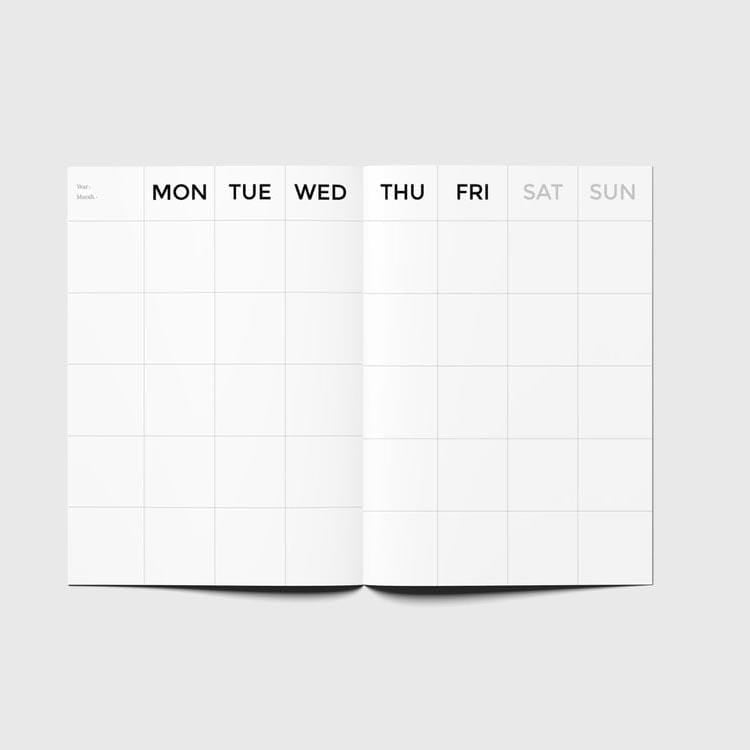 Octagon Planner Timeless Weekly Planner