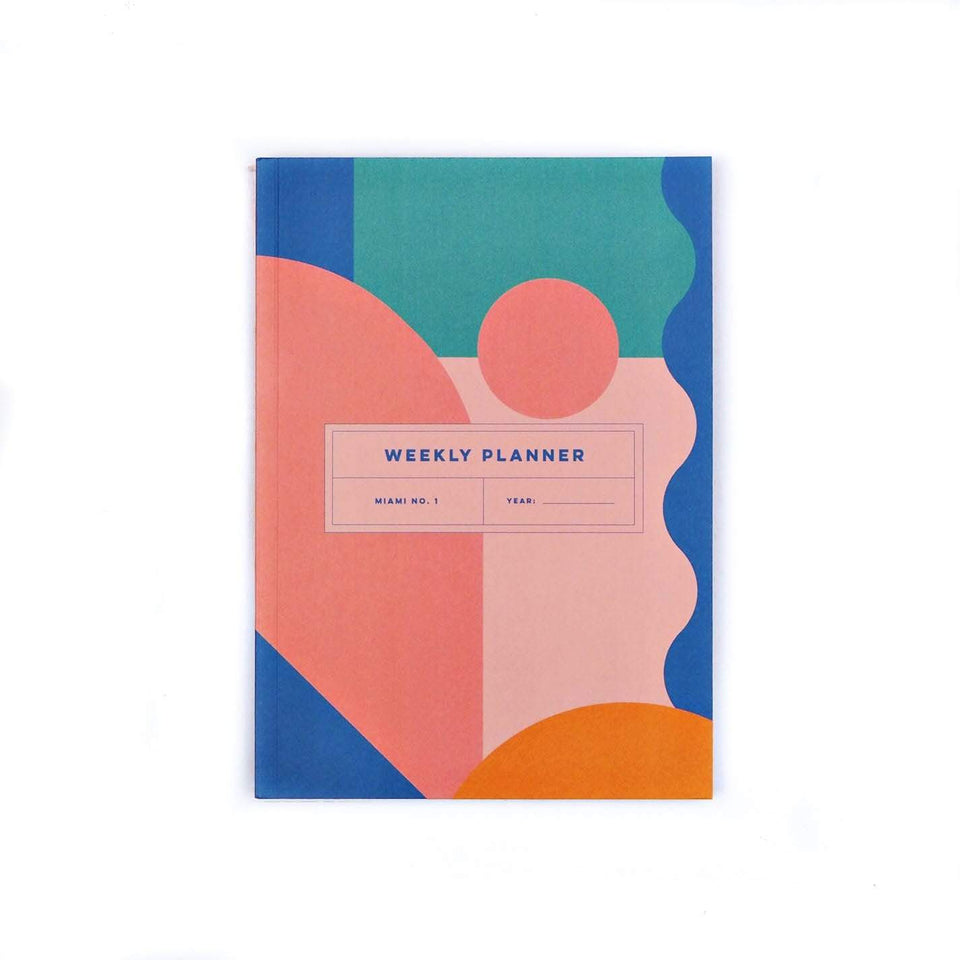 The Completist Planner Weekly Planner Miami