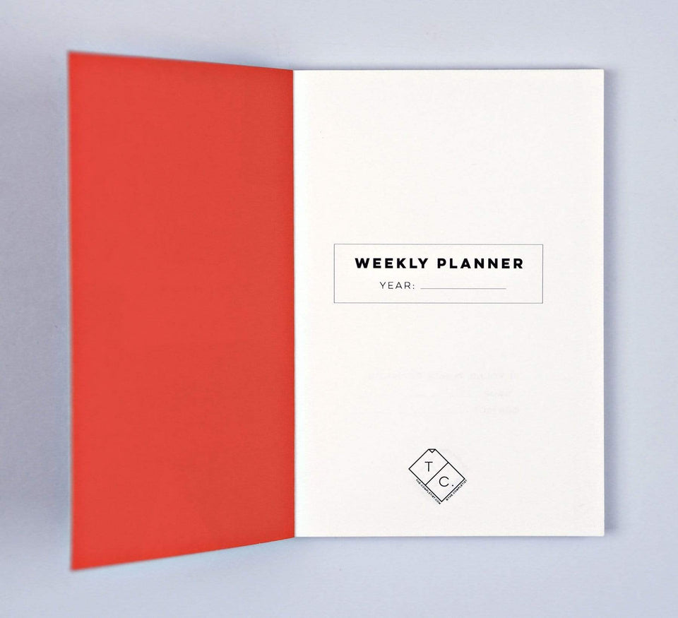 The Completist Planner Weekly Planner Overlay Shapes Pocket