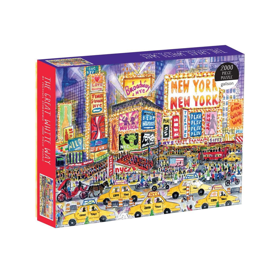 Galison Puzzle Puzzle Broadway 2000 pezzi - Michael Storrings