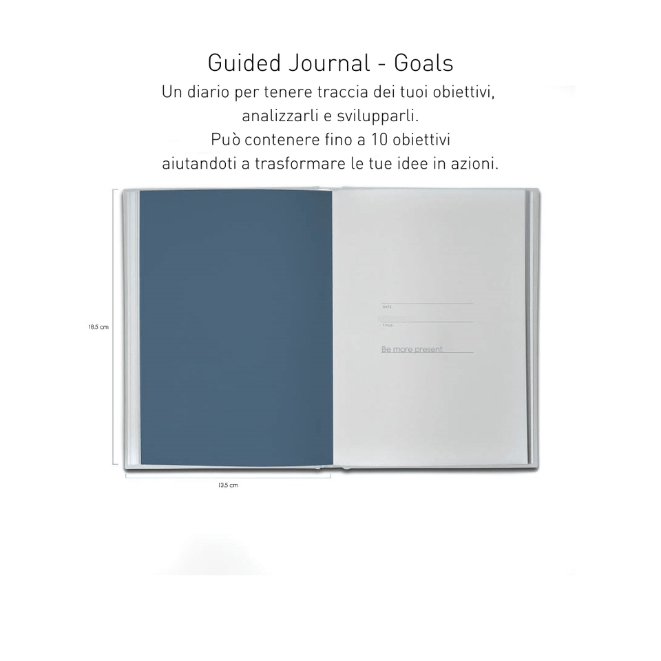 Kartotek Quaderni Guided Journal - Goals