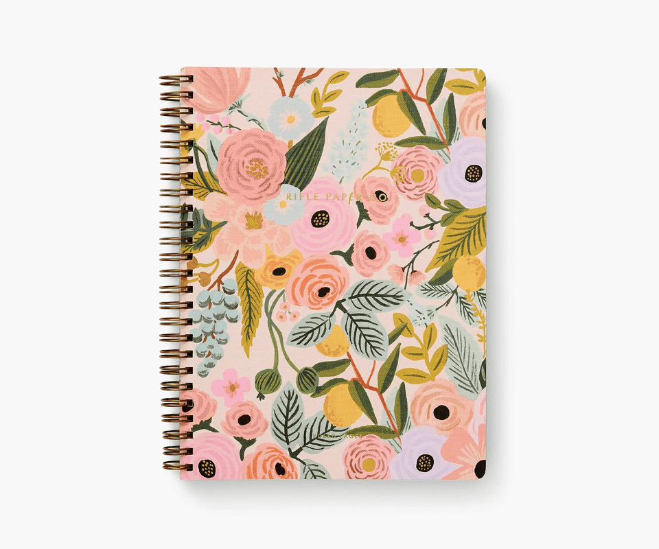 Rifle Paper Quaderni Quaderno a spirale Garden Party Rifle Paper