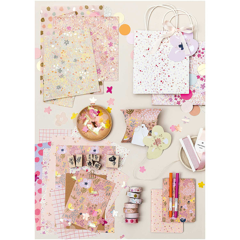 Rico Design Quaderni Set di quaderni Craft Pop