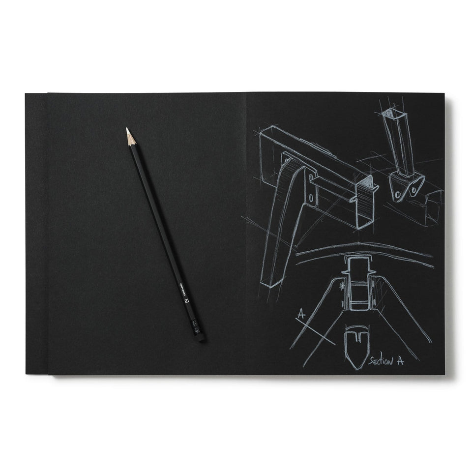 Cinqpoints Quaderni Sketchbook Archiblack