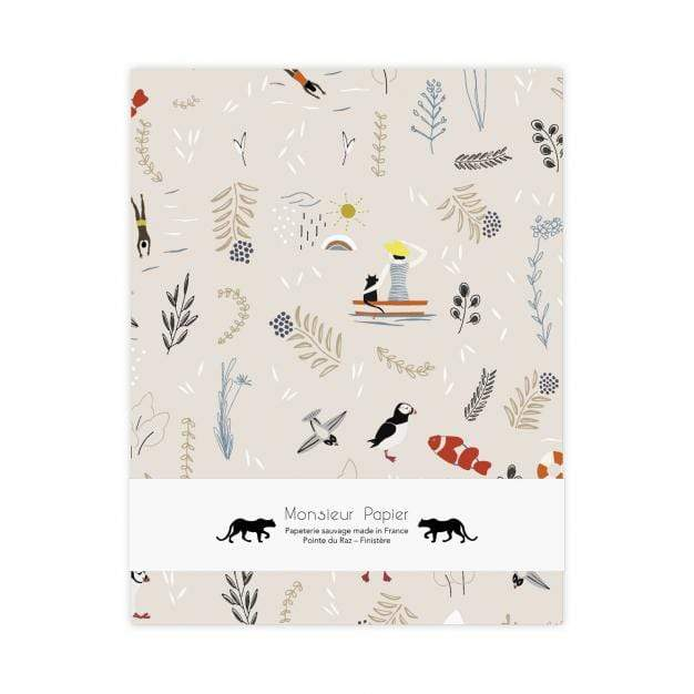 Monsieur Papier Quaderni Sketchbook Beige - 120g
