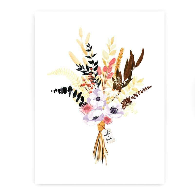 All The Way To Say Stampa Stampa Modern Bouquet