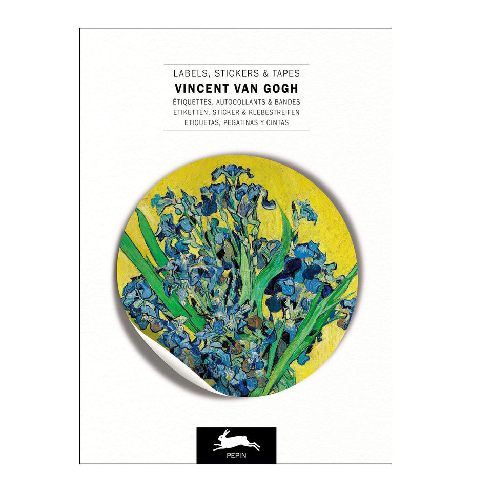 Pepin Press Stickers Stickers Book - Van Gogh