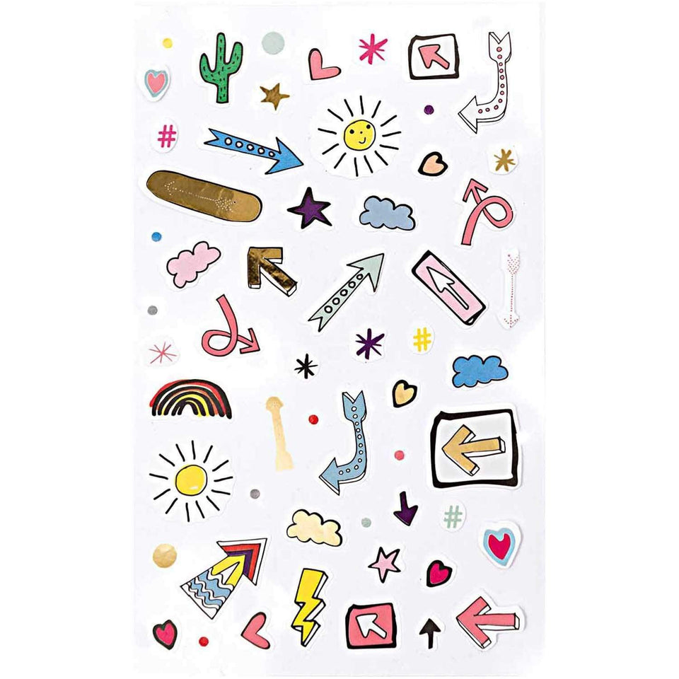 Rico Design Stickers Stickers Magical