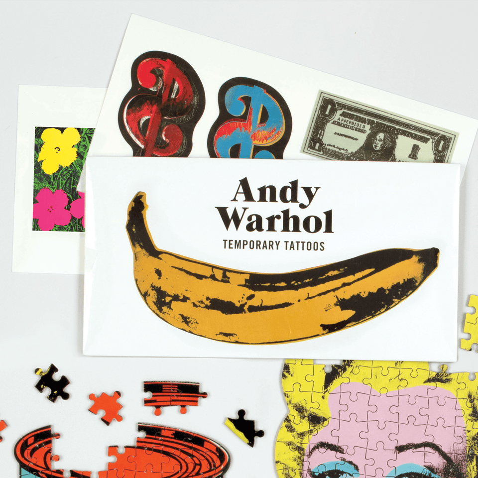 Galison Tatuaggi Tattoo Andy Warhol