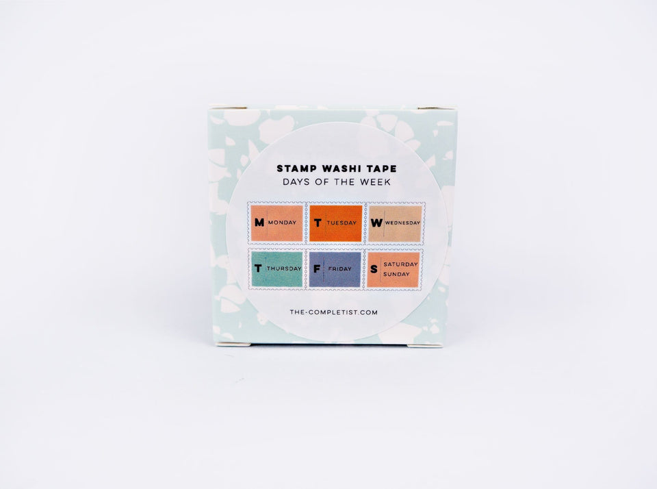 The Completist Washi Tape Washi Tape Days of the Week