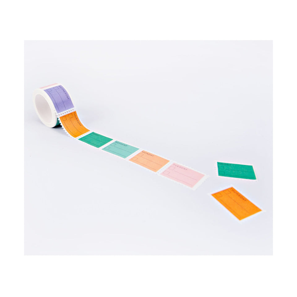 The Completist Washi Tape Washi Tape Pastel Days of the Week