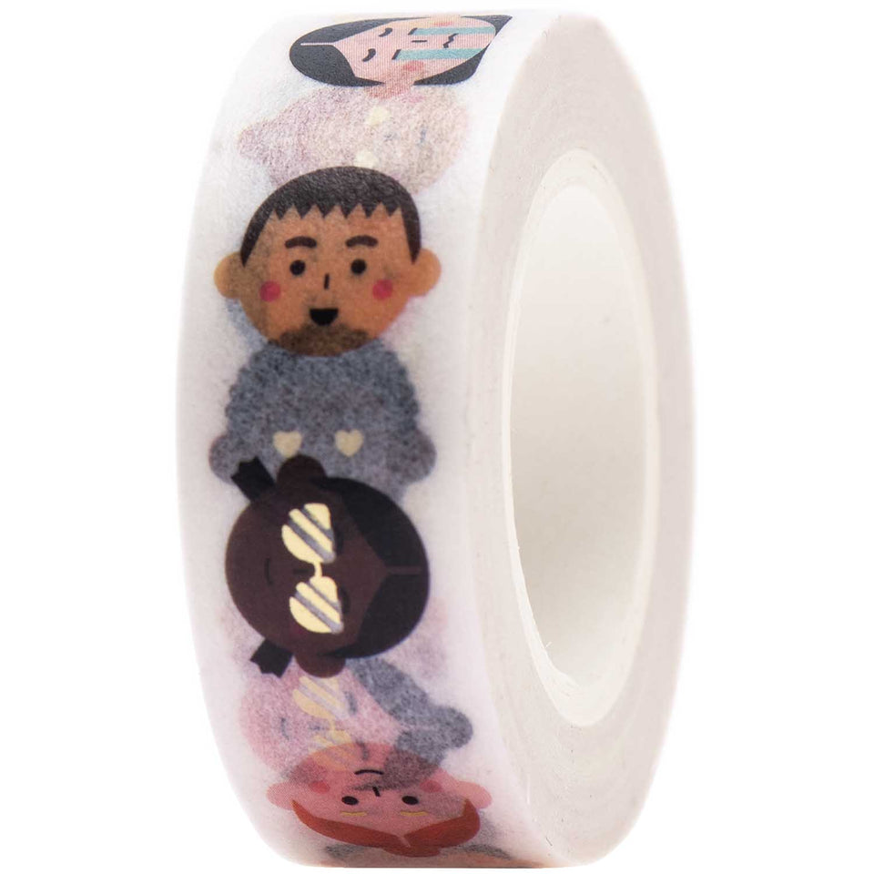 Rico Design Washi Tape Washi tape People
