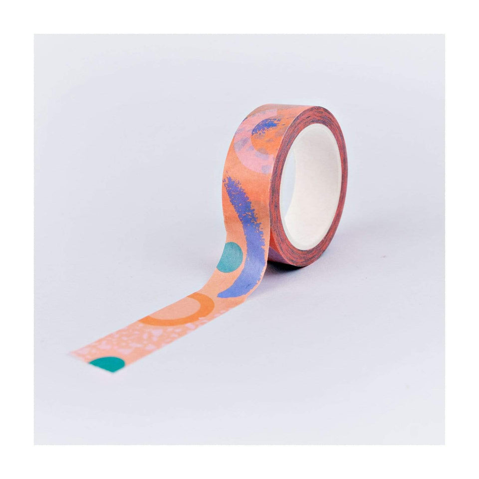 The Completist Washi Tape Washi Tape pink Memphis
