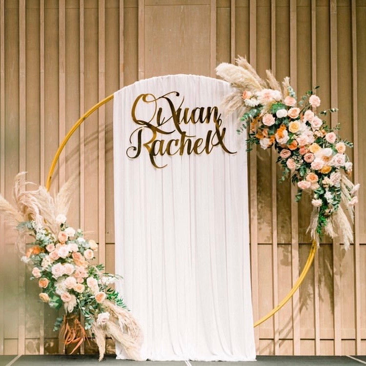 wedding signage 80cm