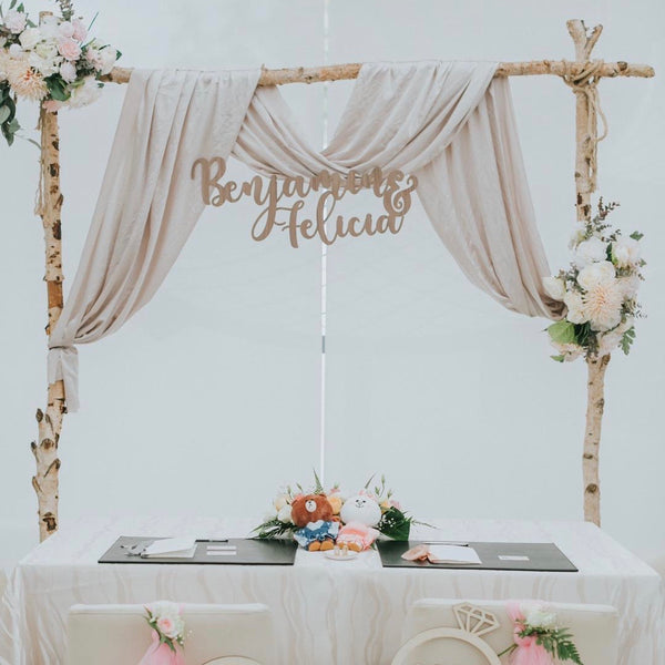 Wedding Signage 70cm