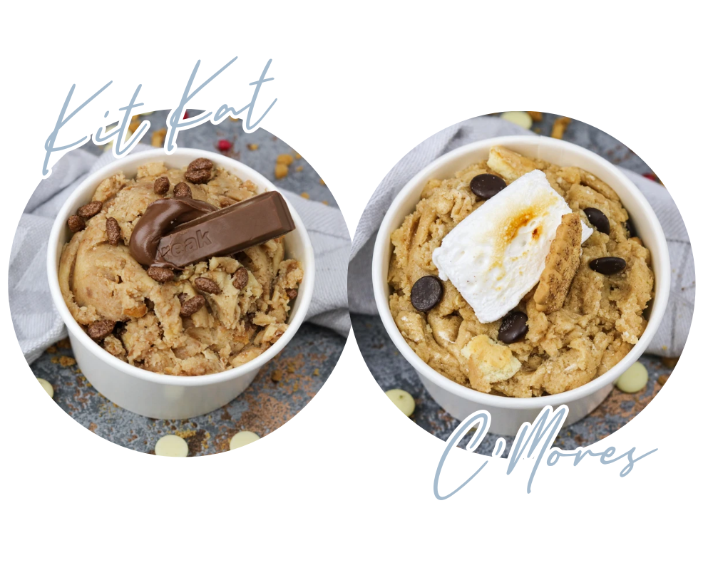 Kit Kat Cookie Dough & Marshmellow Cookie Dough