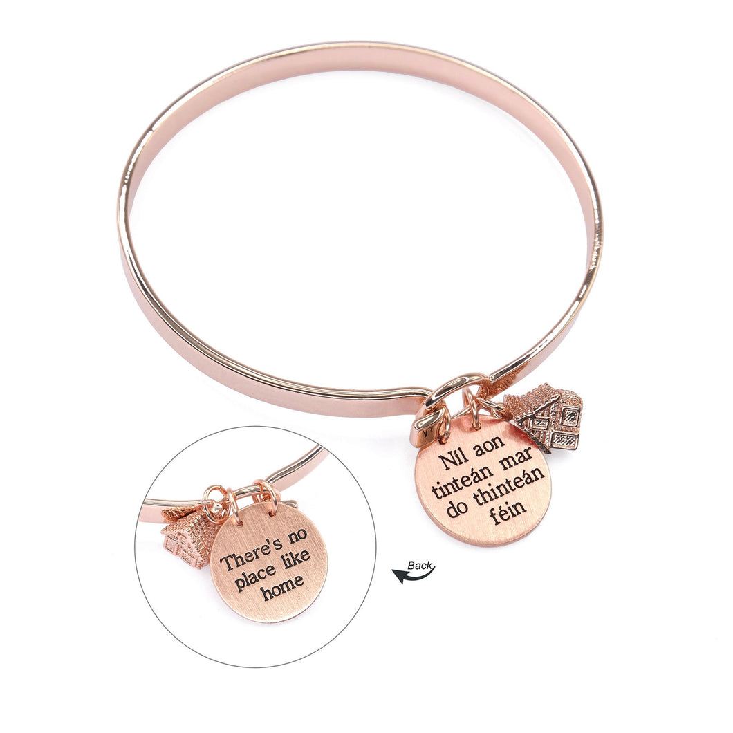 Irish No Place Like Home Bangle