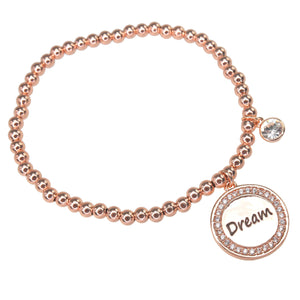 "Rose Gold ""Dream"" Bracelet"
