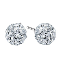 Load image into Gallery viewer, NEW!! Disco Ball Silver Earrings