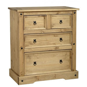 Corona 2 over 2 Drawer Chest