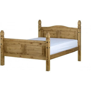 Corona 4ft Bed High Foot End