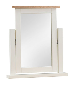 Dorset Painted Oak Dressing Table Mirror