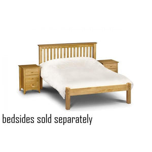 Barcelona Pine Low Foot End Bed Frame