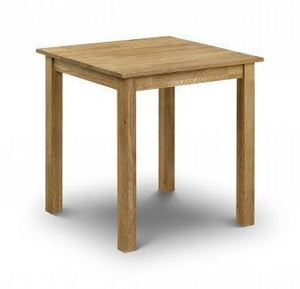 Coxmoor Solid Oak Square Dining Table