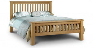 Amsterdam Oak High Foot End Bed Frame