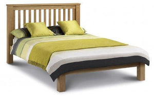 Amsterdam Oak Low Foot End Bed Frame