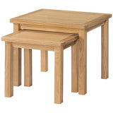 Burford Oak Nest Of Tables