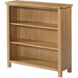 Burford Oak Low Bookcase