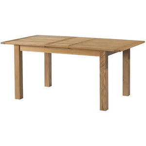 Burford Oak Extending Dining Table 80 x 140-175