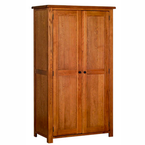 Rustic Oak Ladies All Hanging Wardrobe