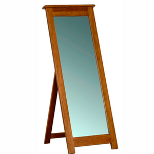 Rustic Oak Cheval Mirror