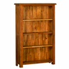 Rustic Oak 5ft Bookcase