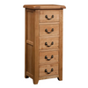 Somerset Oak 5 Drawer Wellington
