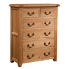 Somerset Oak 4 + 2 Chest