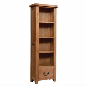 Somerset Oak Bookcase 600mm x 1800mm