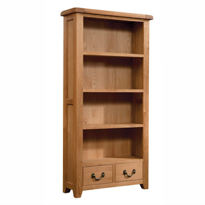 Somerset Oak Bookcase 900mm x 1800mm