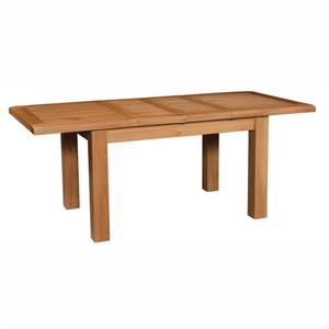 Somerset Oak Dining Table 132cm-198cm with 2 Ext