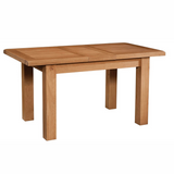 Somerset Oak Dining Table 120cm-153cm with 1 Ext