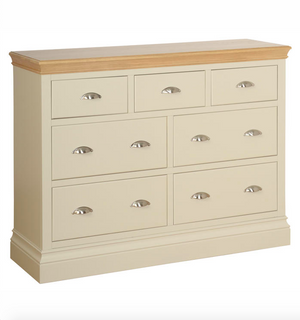 Lundy Pine Painted 3 Over 4 Jumper Chest